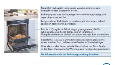 Kochfeld und Backofen reinigen: So geht´s richtig